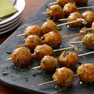 Glazed Party Meatballs