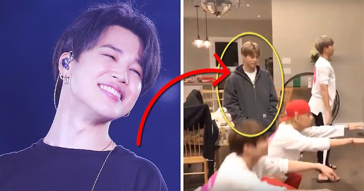 BTS's Jimin Casually Teleported Out Of Nowhere And, Yes, We Noticed