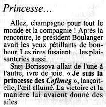 "Photo: ""La princesse des Cofimeg"""