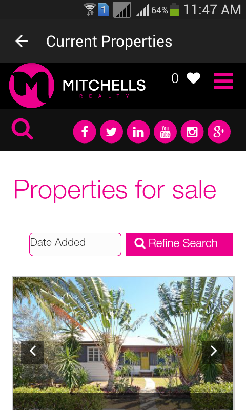 Mitchells Realty- screenshot