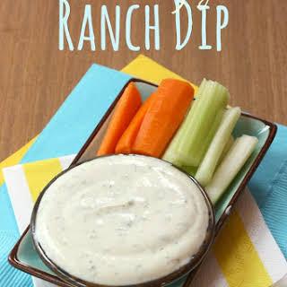 Pantry Greek Yogurt Ranch Dip.