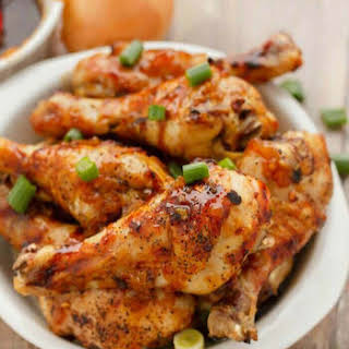 Honey Garlic Chicken Drumsticks.