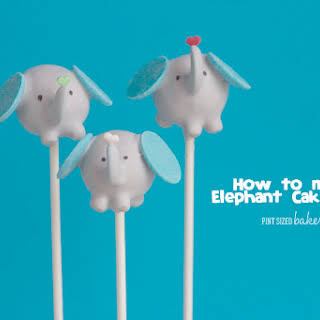 Elephant Cake Pops.