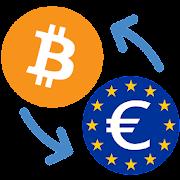 Bitcoin to Euro / BTC to EUR Converter
