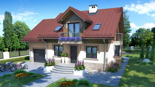 projekt domu Dom w Oregonie 3