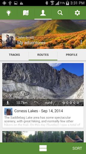 ViewRanger GPS 導航儀–路線和地圖
