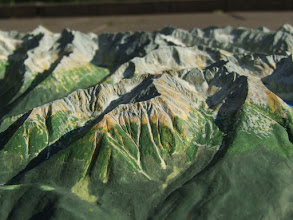 Photo: Koszysta, Tatra Mts. Relief Map