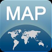 Karte von Malaga offline