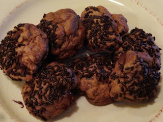 Dark Chocolate Truffle Cookies Recipe