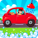 Amazing Car Wash For Kids FREE icon