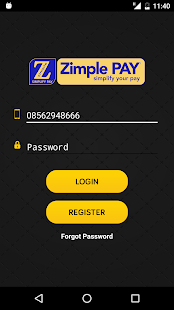 Zimple Pay - náhled