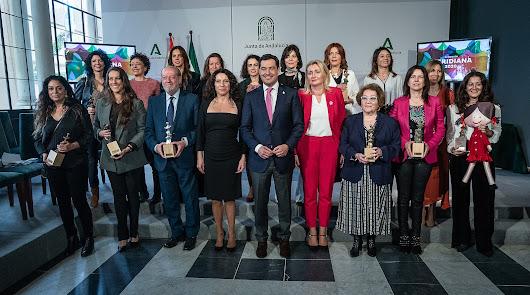 Gema Esteban y el CD Towanda reciben el premio Meridiana