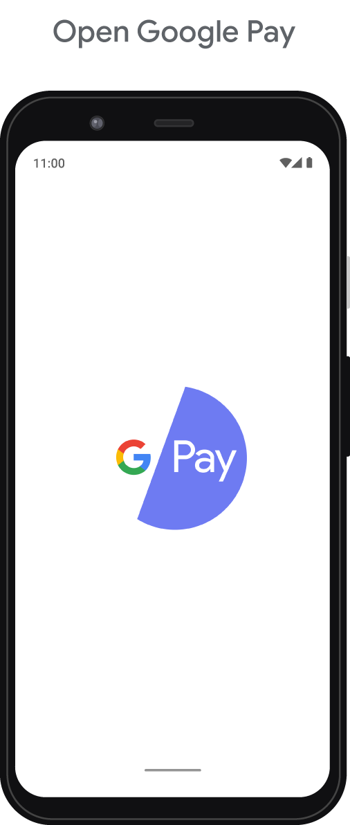 Step 1 - Open Google Pay app
