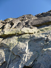 Photo: Jonas Furger on the first ascent of House Salad