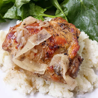 Slow Cooker French Onion Chicken (Whole30, Paleo).