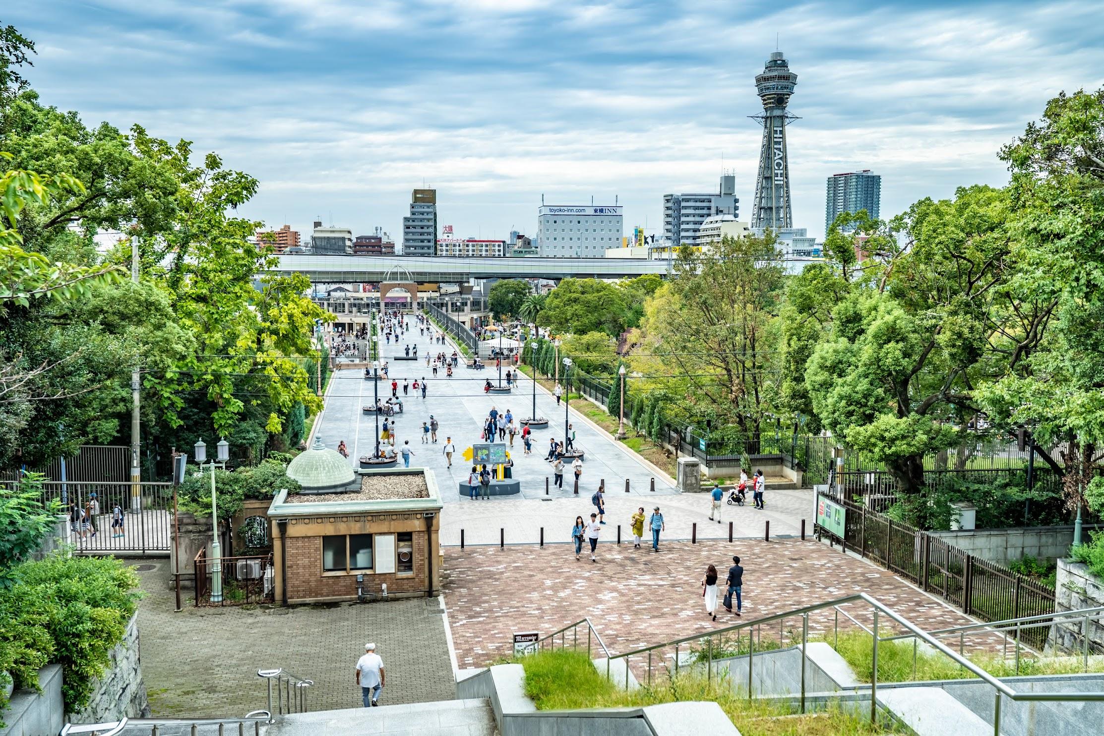 天王寺公園 新世界 通天閣2