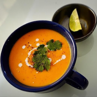 Butternut Squash Carrot Soup.