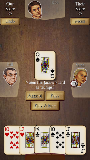 Euchre Free screenshot 3