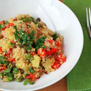 Pineapple Fried Quinoa Recipe