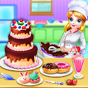 Sweet bakery Dessert Chef-Cake game & Baking Games icon
