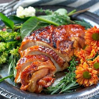 Easy Maple-Glazed Roasted Turkey Breast.