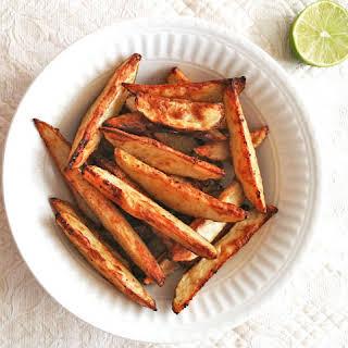 Oven-Baked Potato Wedges.