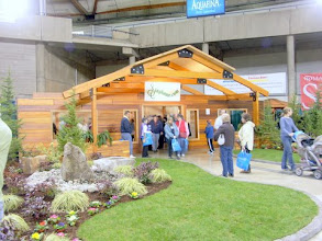 Photo: Sing Home displayed at the 2007 Tacoma Home Show. It took 8 people less than 10 hours to construct.