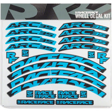 RaceFace Decal Kit for Arc 35 Rims