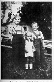 Photo: WITH HIS YOUNGER HALF-SITER AND BROTHER, LOOKING VERY GERMAN INDEED!
