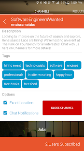 Channels - The Social Bulletin- screenshot thumbnail