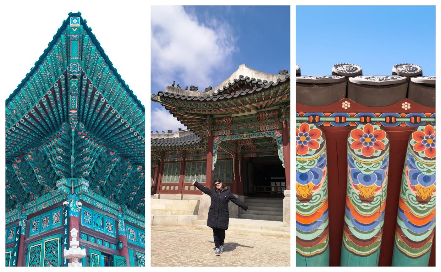 palacios de Seúl