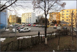 Photo: Turda - Calea Victoriei, Bloc B15 - Imagine de la geamul meu - 2018.12.29