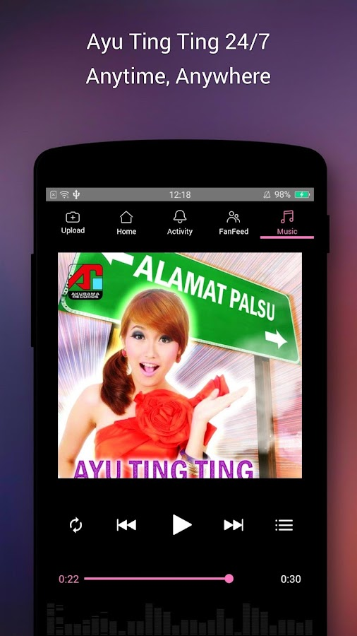 Ayu Ting Ting Official App- screenshot