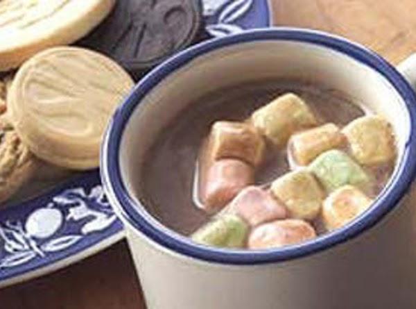 Perfect Match Hot Coco Mallow Milk Shake Recipe