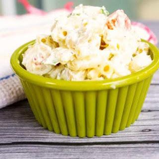 Creamy Macaroni Salad.
