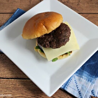 Beef Short Ribs Burgers with Horseradish Cream Sauce