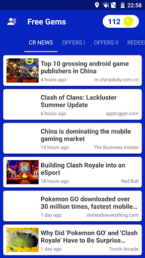 Free Gems For Clash Royale Joke App - Prank for PC