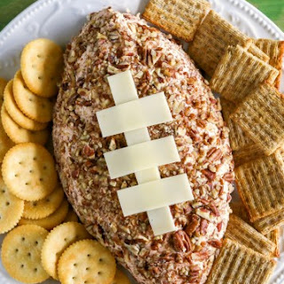 Ham and Cheddar Cheese Ball.