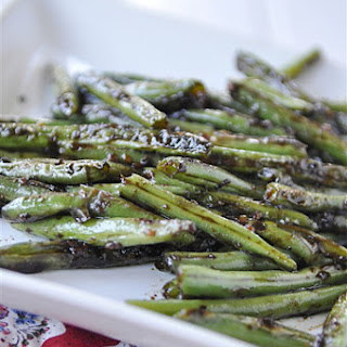 Chinese Style Green Beans.
