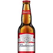 Budweiser, 12oz bottled beer (5.0% ABV)