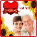 Fathers Day Photo Frame 2021 Greeting Cards icon