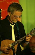 Photo: Paul Mitchell of Mendip mafia performing in Priston Festival's Acoustic Showcase. © Anna Barclay 2008