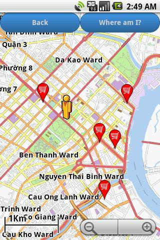 Скриншот Vietnam Amenities Map (free)