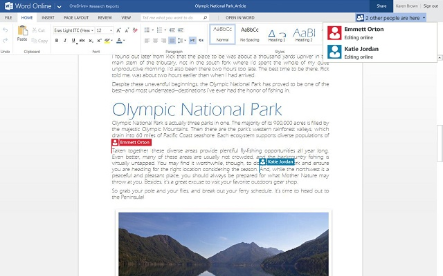 microsoft office 2016 word online