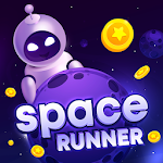 Space Runner Throw The Cosmic  Future icon