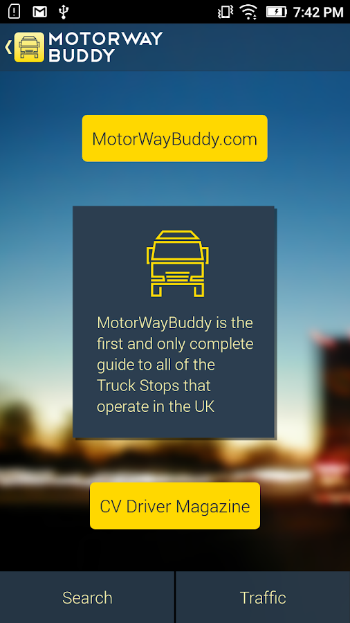 Motorway Buddy- screenshot