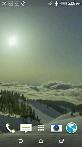 冬天的视频动态壁纸