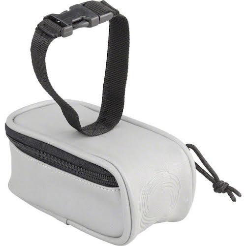 Cycle Aware Beamer Fully Reflective Saddle Bag: Silver