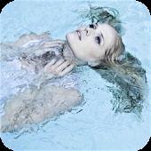 Girlfriend under the Water