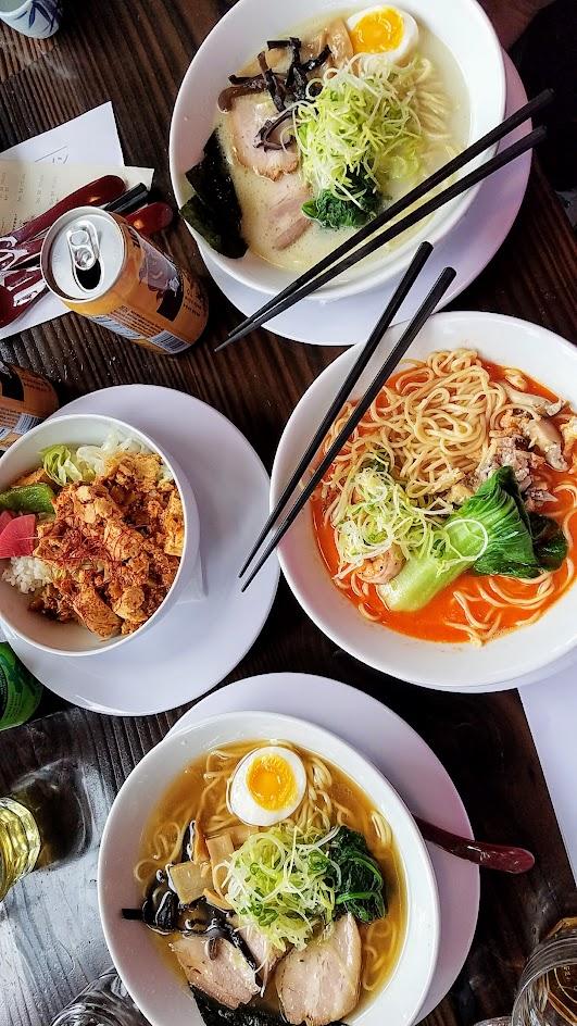 Marukin Ramen meal